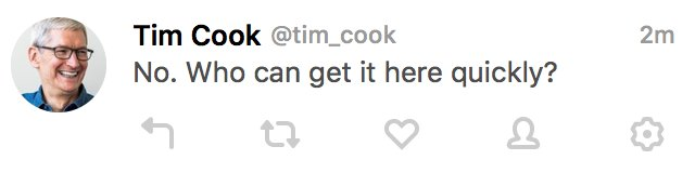 tim cook troll