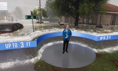 weather channel storm watch unreal engine hurricane florence