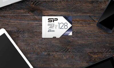 microsd card silicon power
