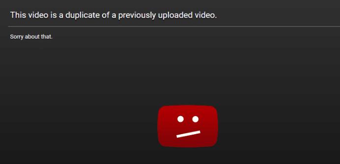 youtube duplicate video