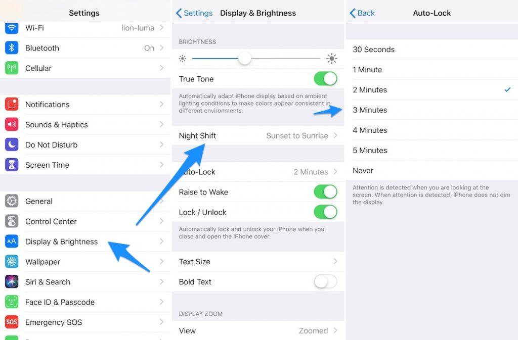 best settings iphone xr