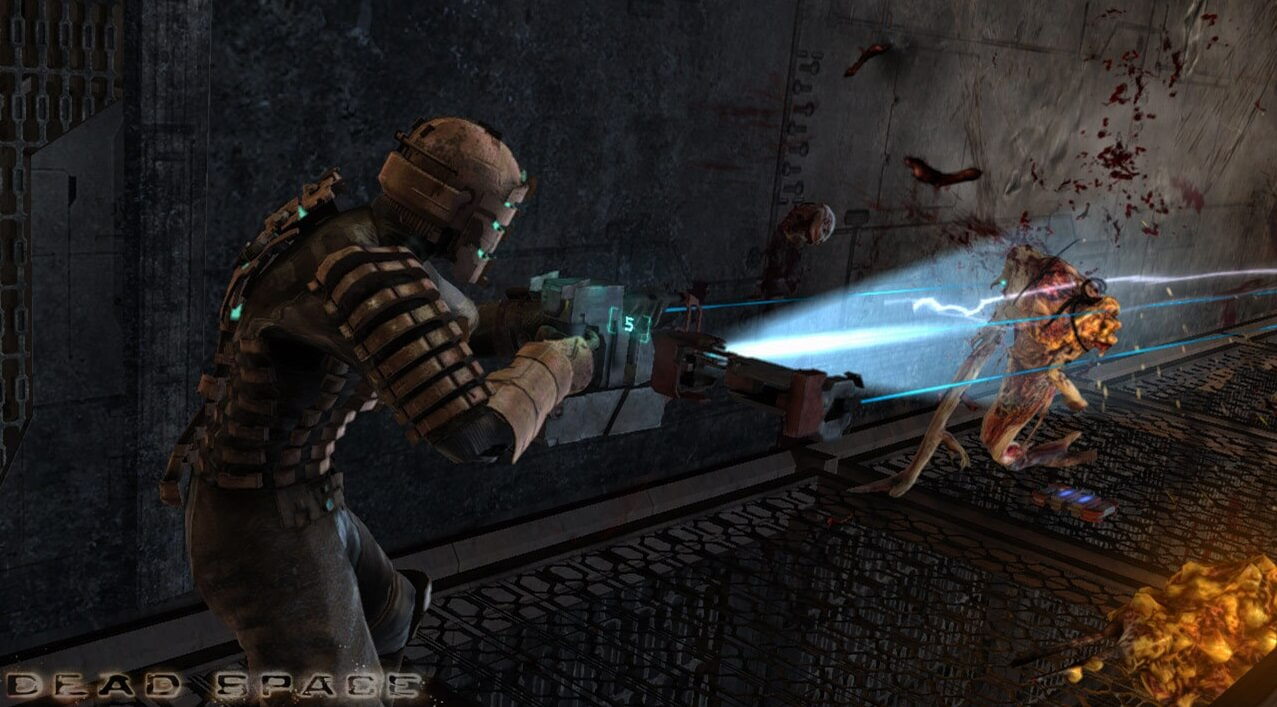 scary games dead space