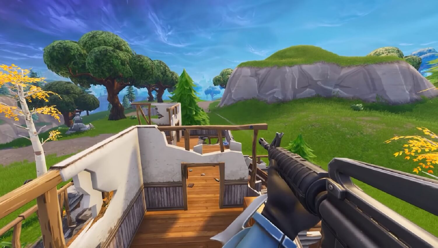 fortnite in first-person mode