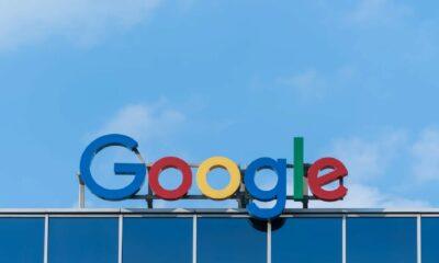 google sign against blue sky