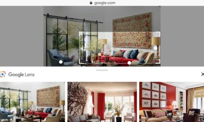 google lens on google search