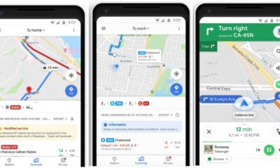 google maps commute tab