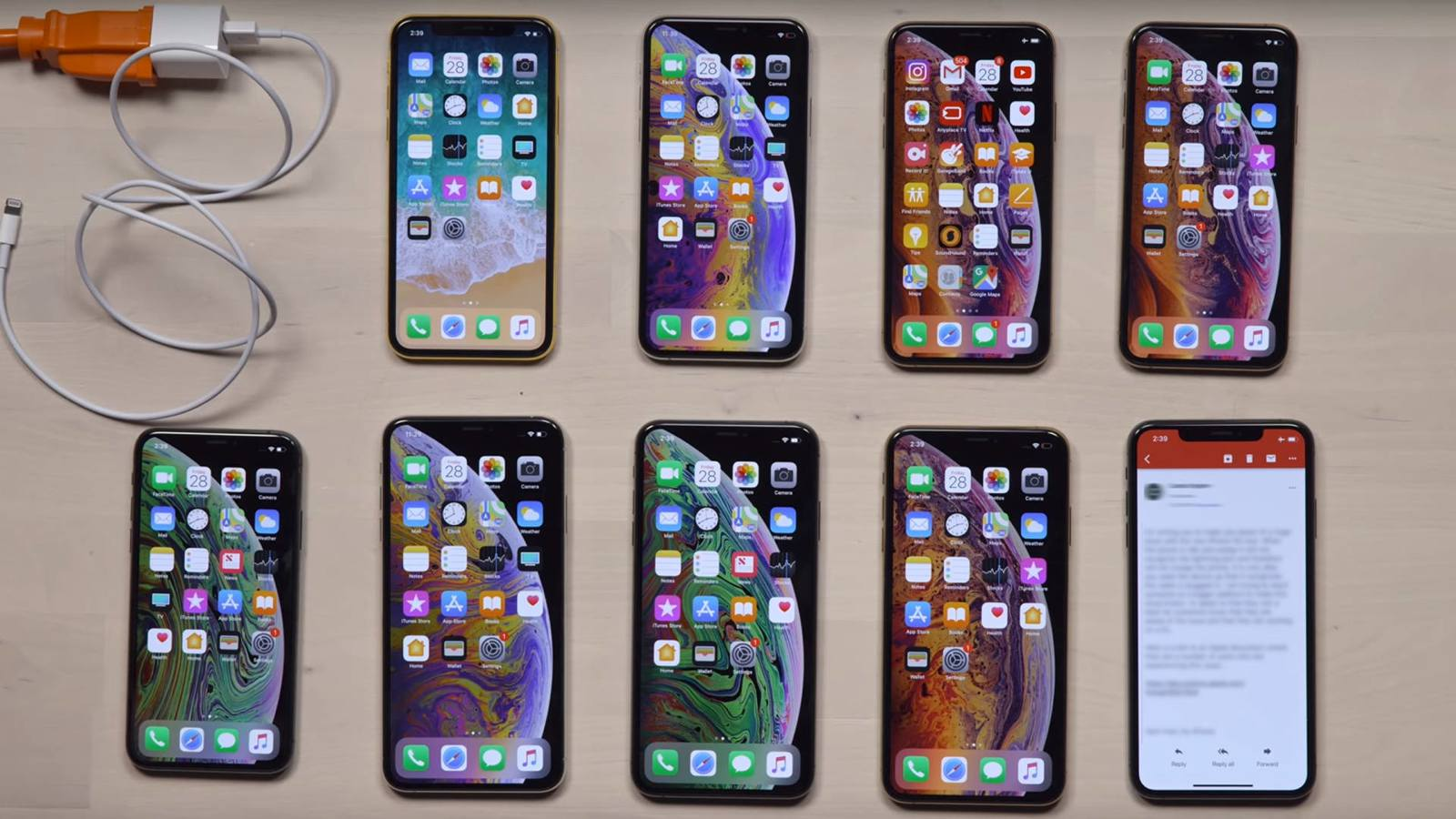 iphone xs charging issues with the iphone xs