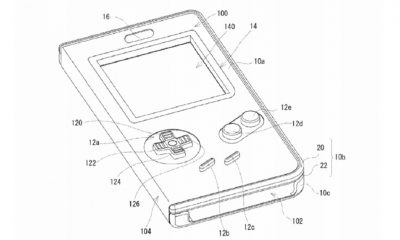nintendo game boy case patent