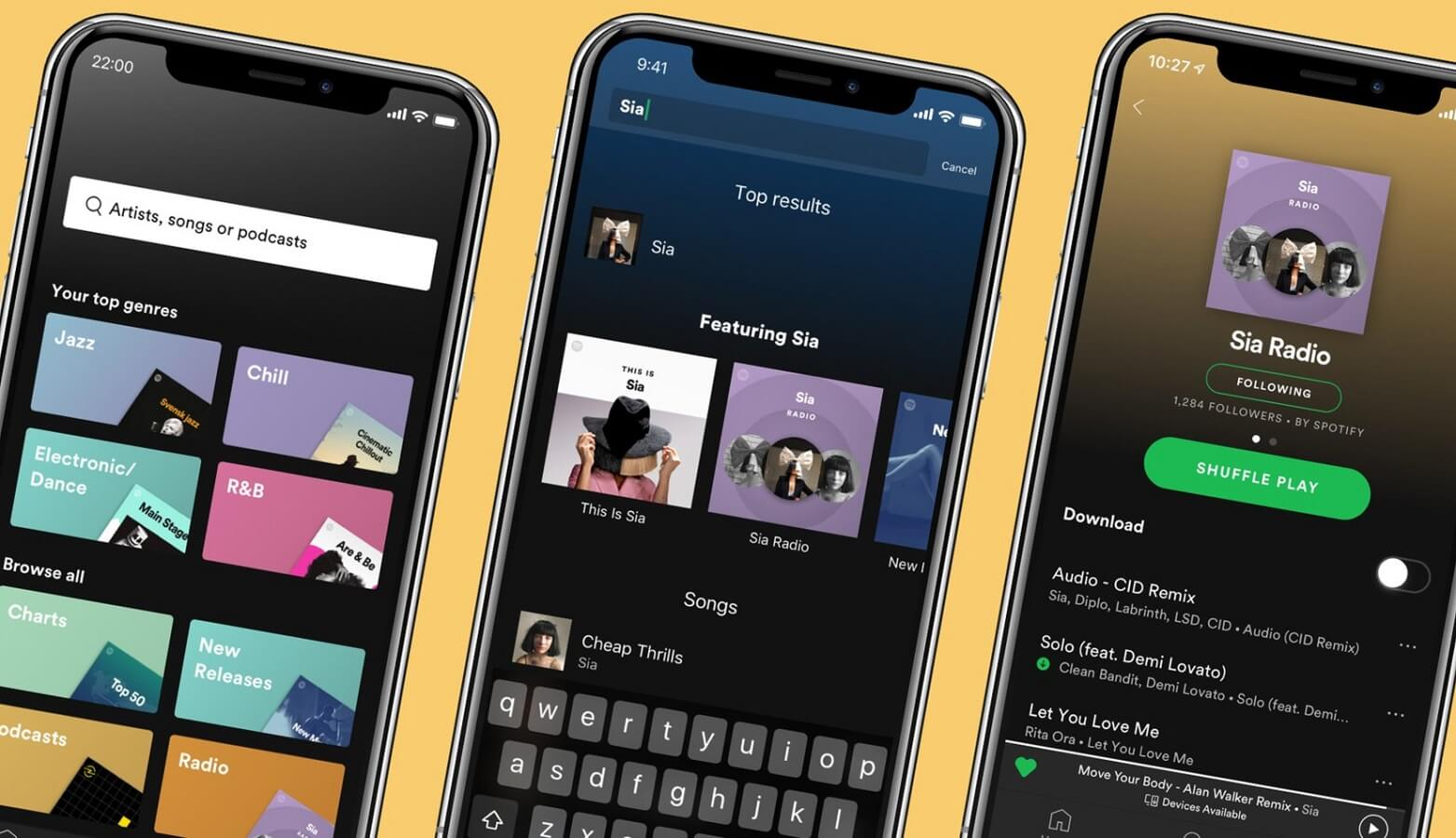 spotify new features