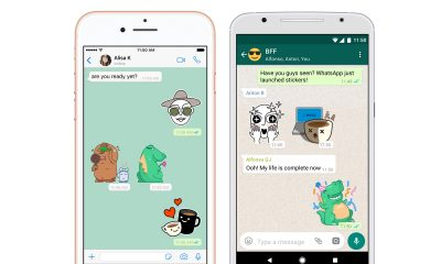 whatsapp adds stickers