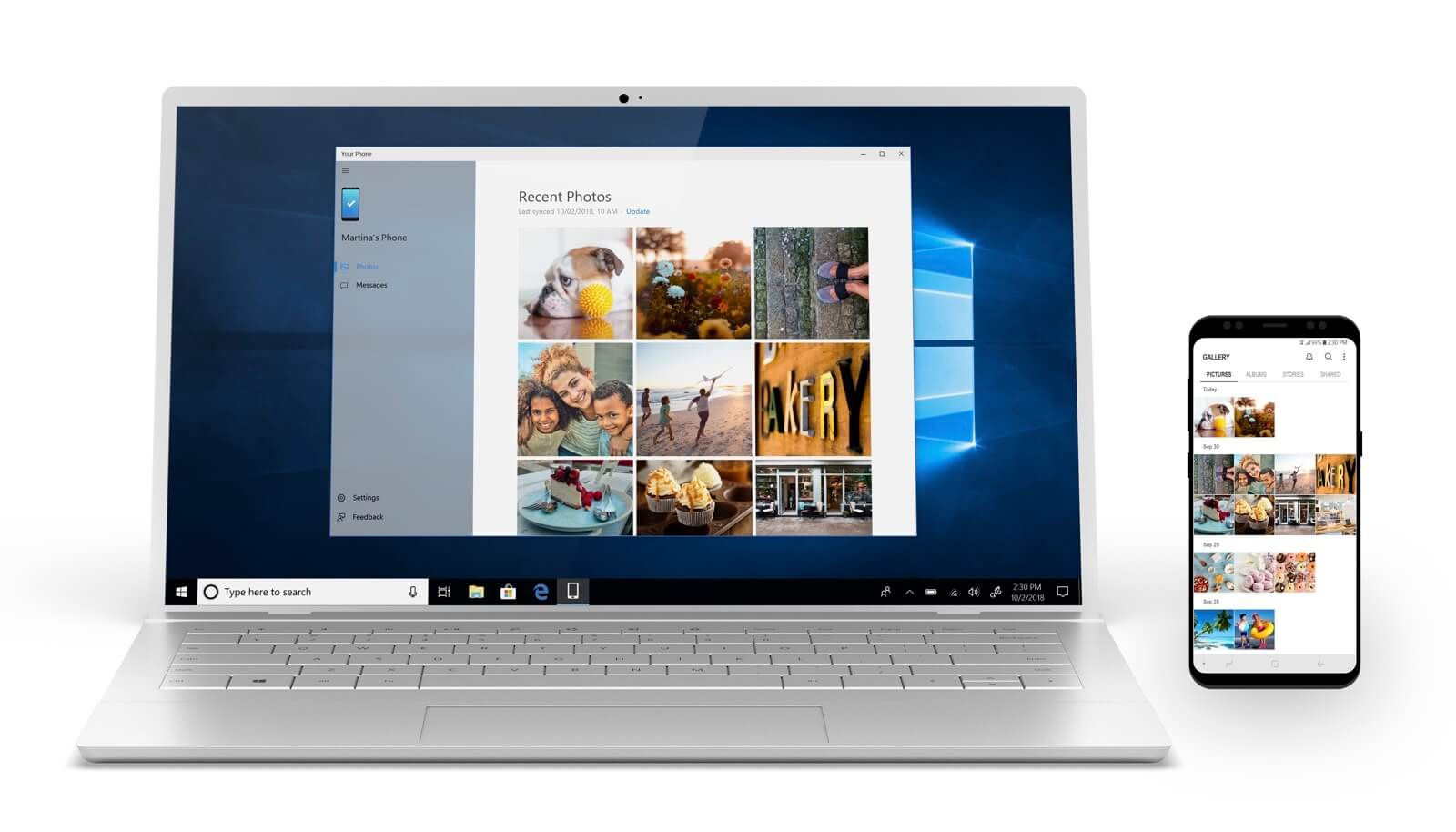 windows 10 your phone features