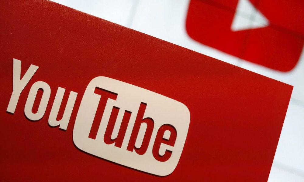 red youtube logo sign