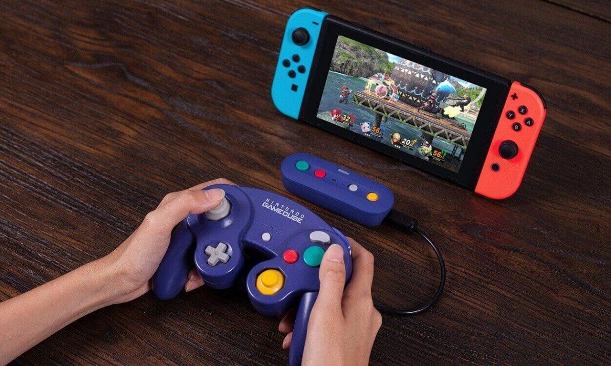 8bitdo wireless gamecube adapter