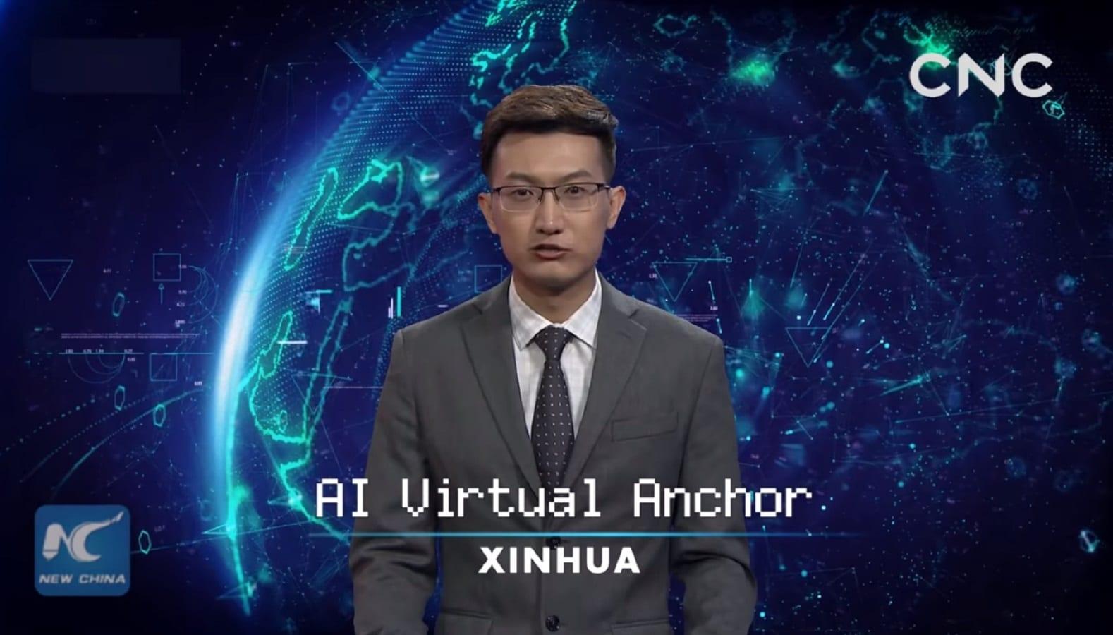 ai news anchor china