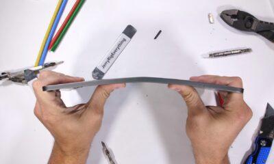 apple ipad pro bends easily youtube video