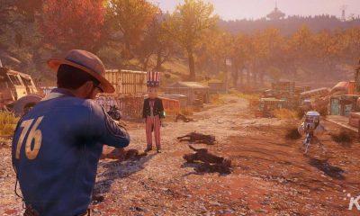 fallout 76 player aiming at another person
