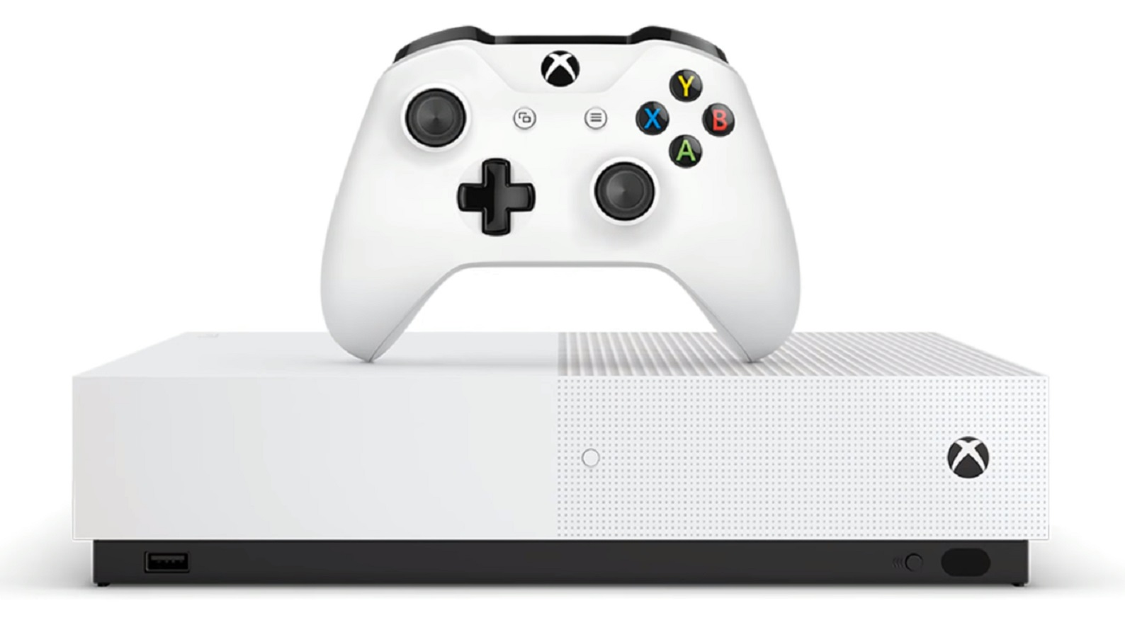 microsoft xbox one disc-less model