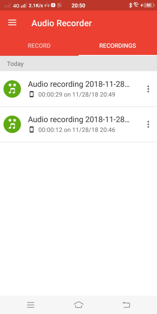 how to record audio on your android phone