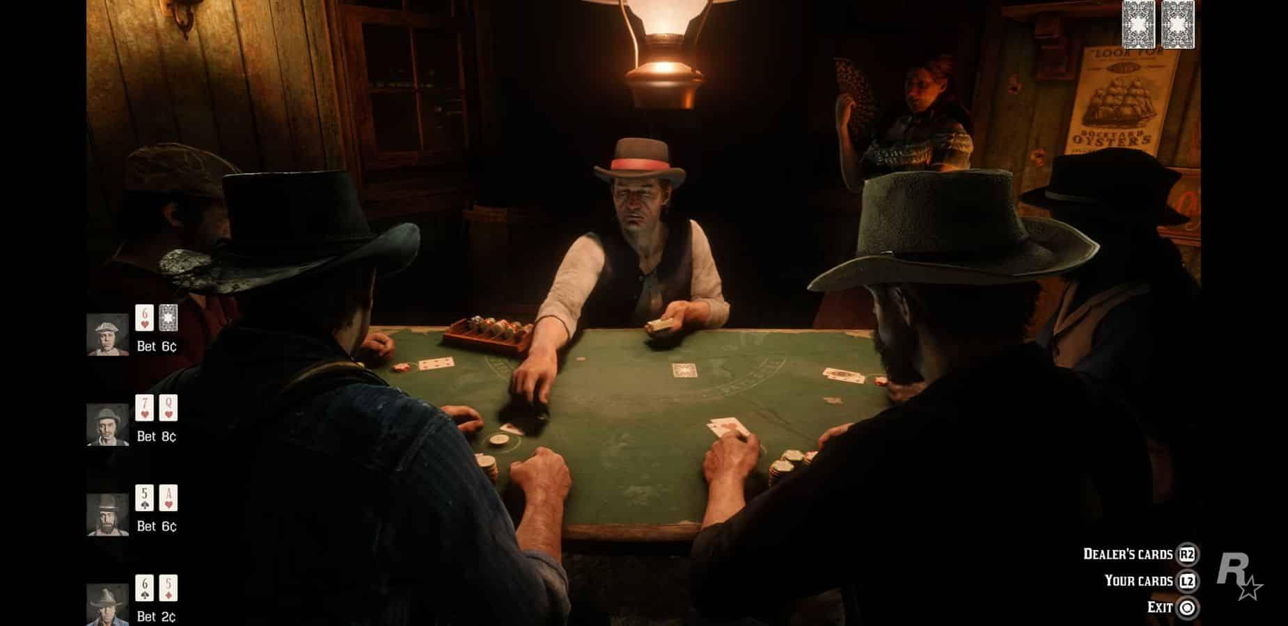 red dead redemption 2 blackjack