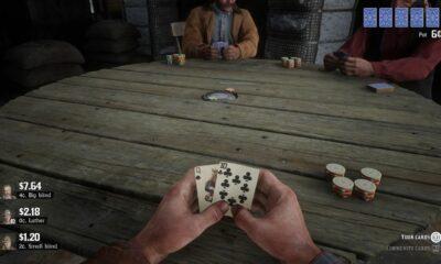 red dead redemption 2 poker