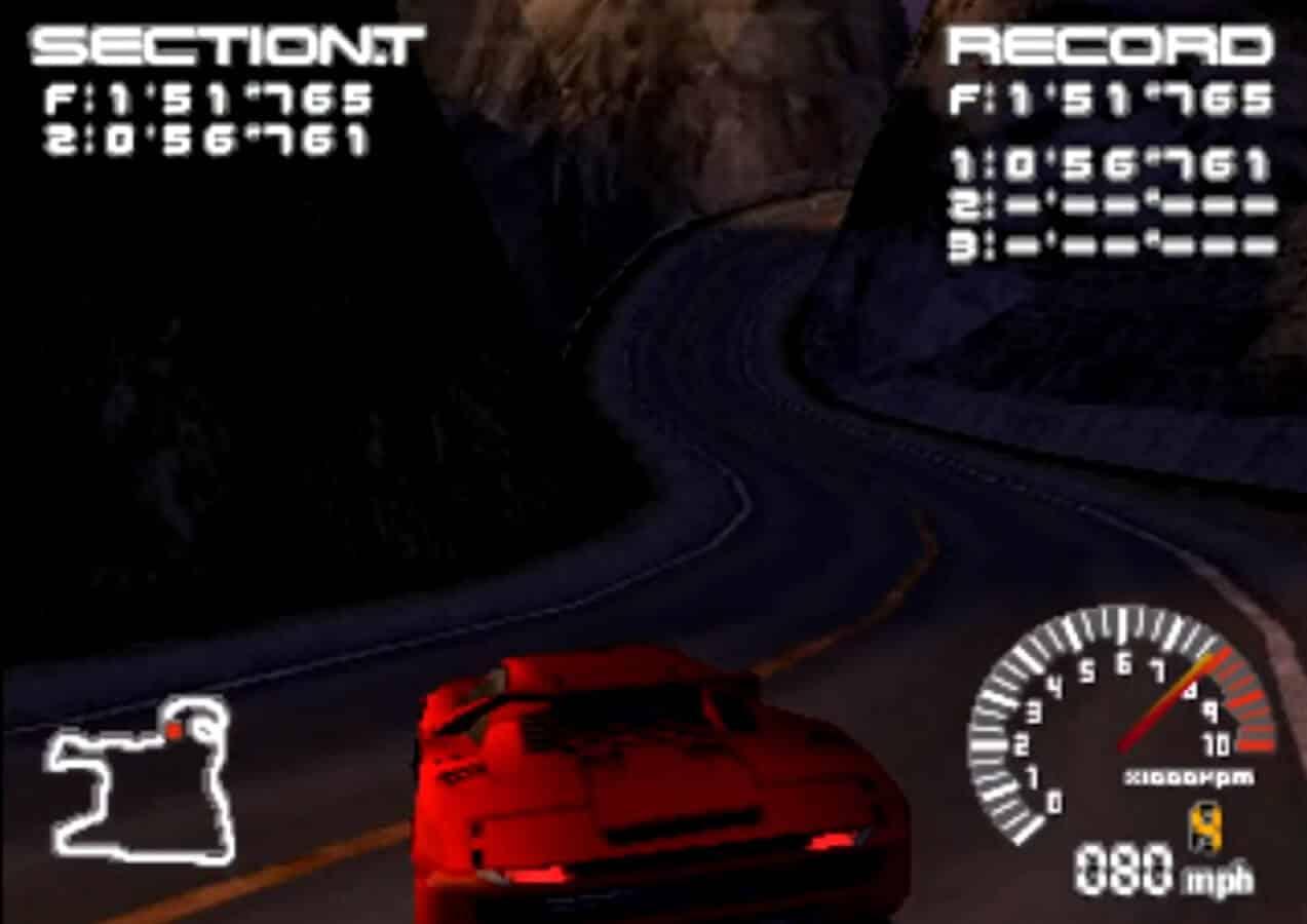 ridge racer playstation classic
