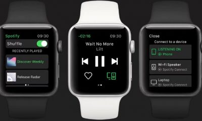 spotify apple watch release