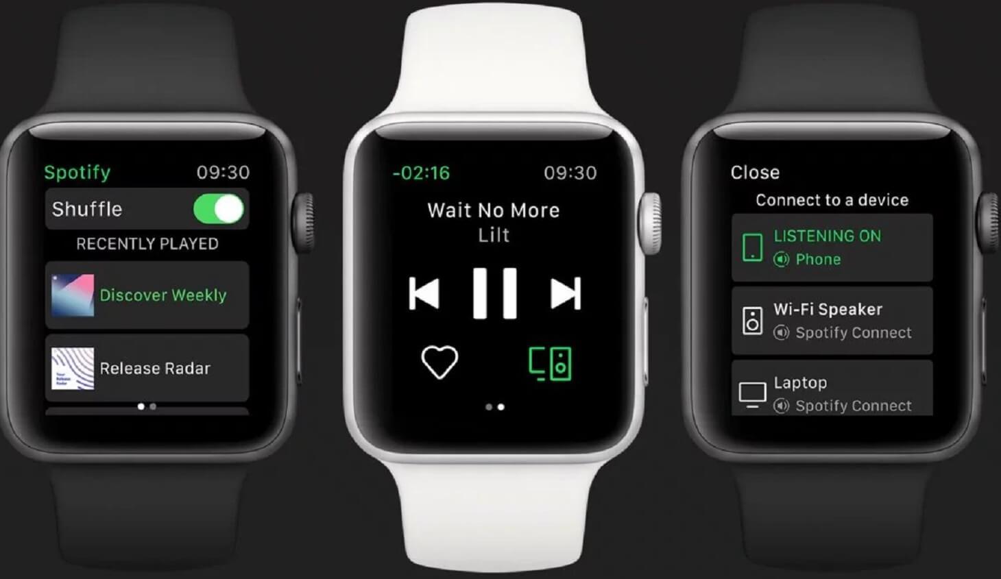 spotify apple watch release