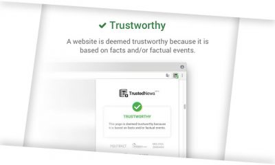 trustednews fake news google chrome extension