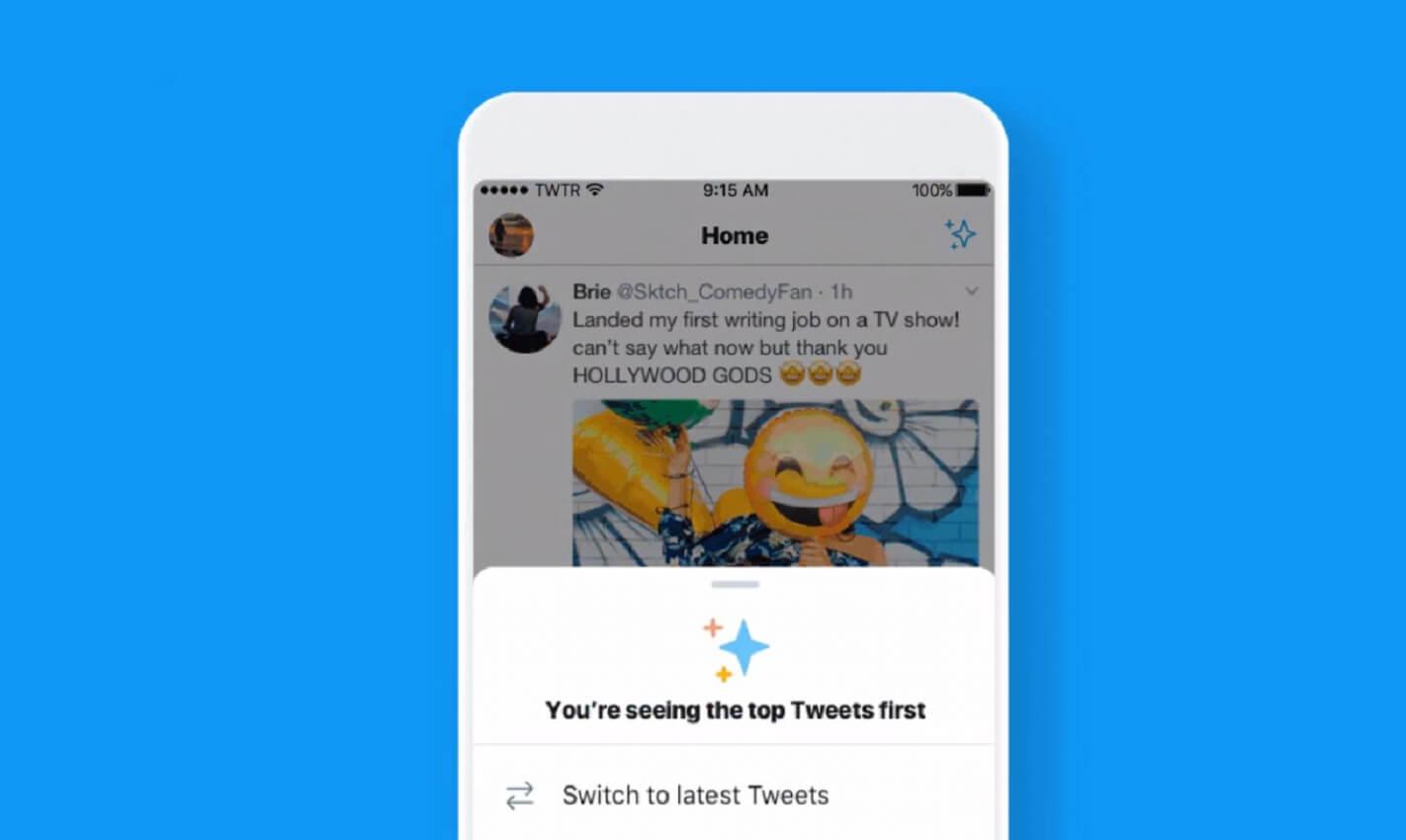 twitter new feed testing