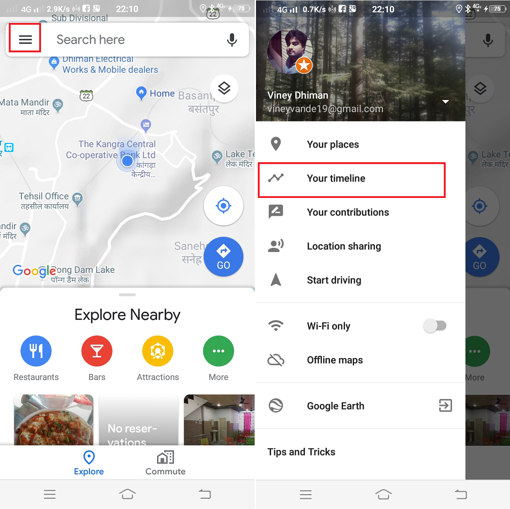 how to google maps