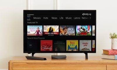 amazon prime integrated into comcast x1 dashboard