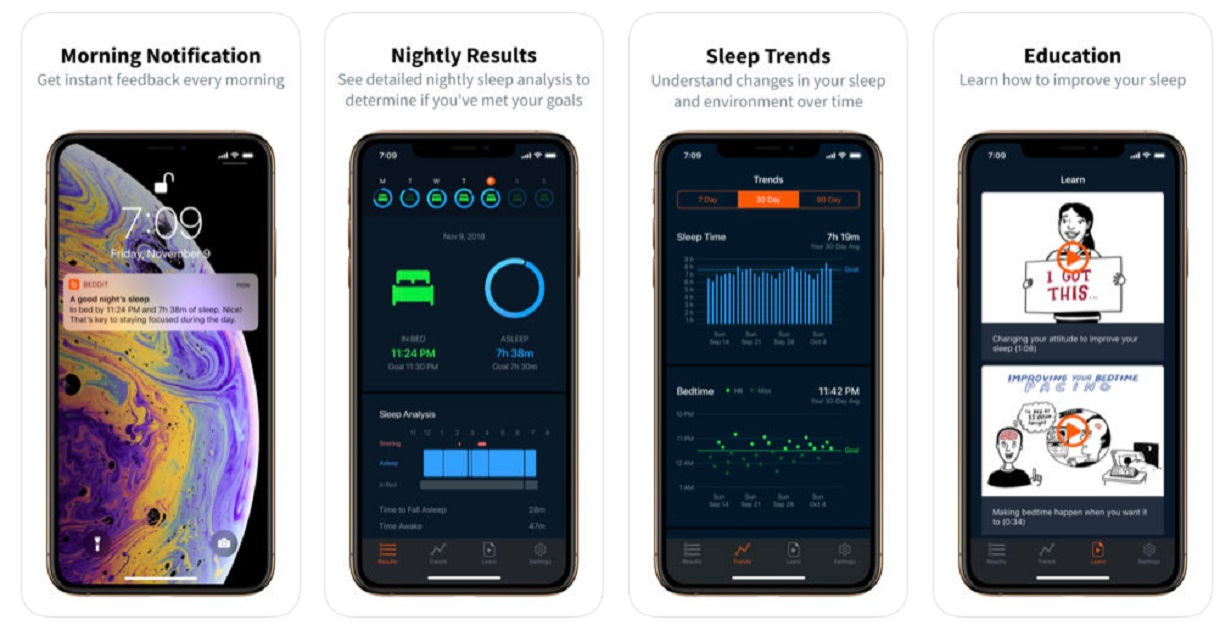 beddit app for sleep tracking