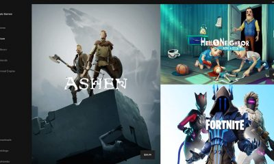what the epic game store launcher looks like