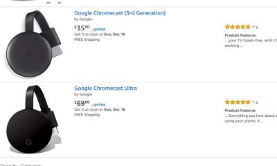 google chromecast on sale again at amazon prices
