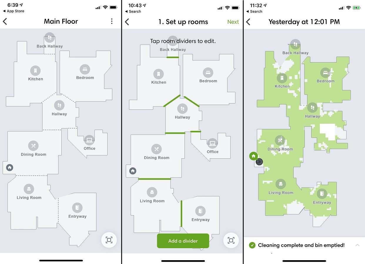 irobot app smart maps