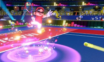 mario tennis aces for the nintendo switch