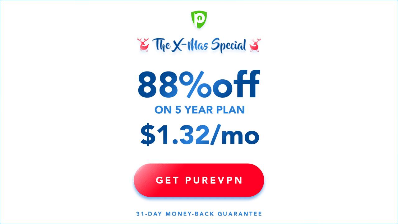 purevpn xmas special deal