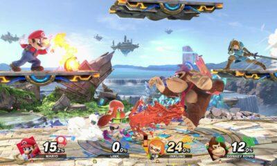 super smash bros ultimate mario vs donkey kong