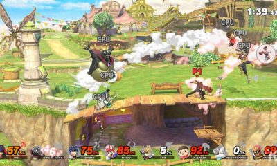 super smash bros ultimate characters fighting on nintendo switch