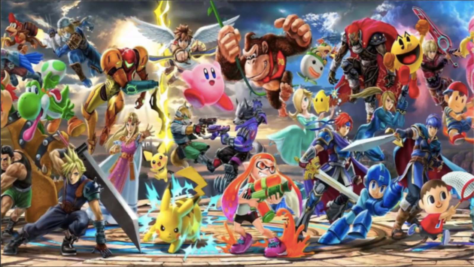 super smash bros ultimate cast