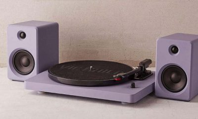 turntable record player with bluetooth speakers