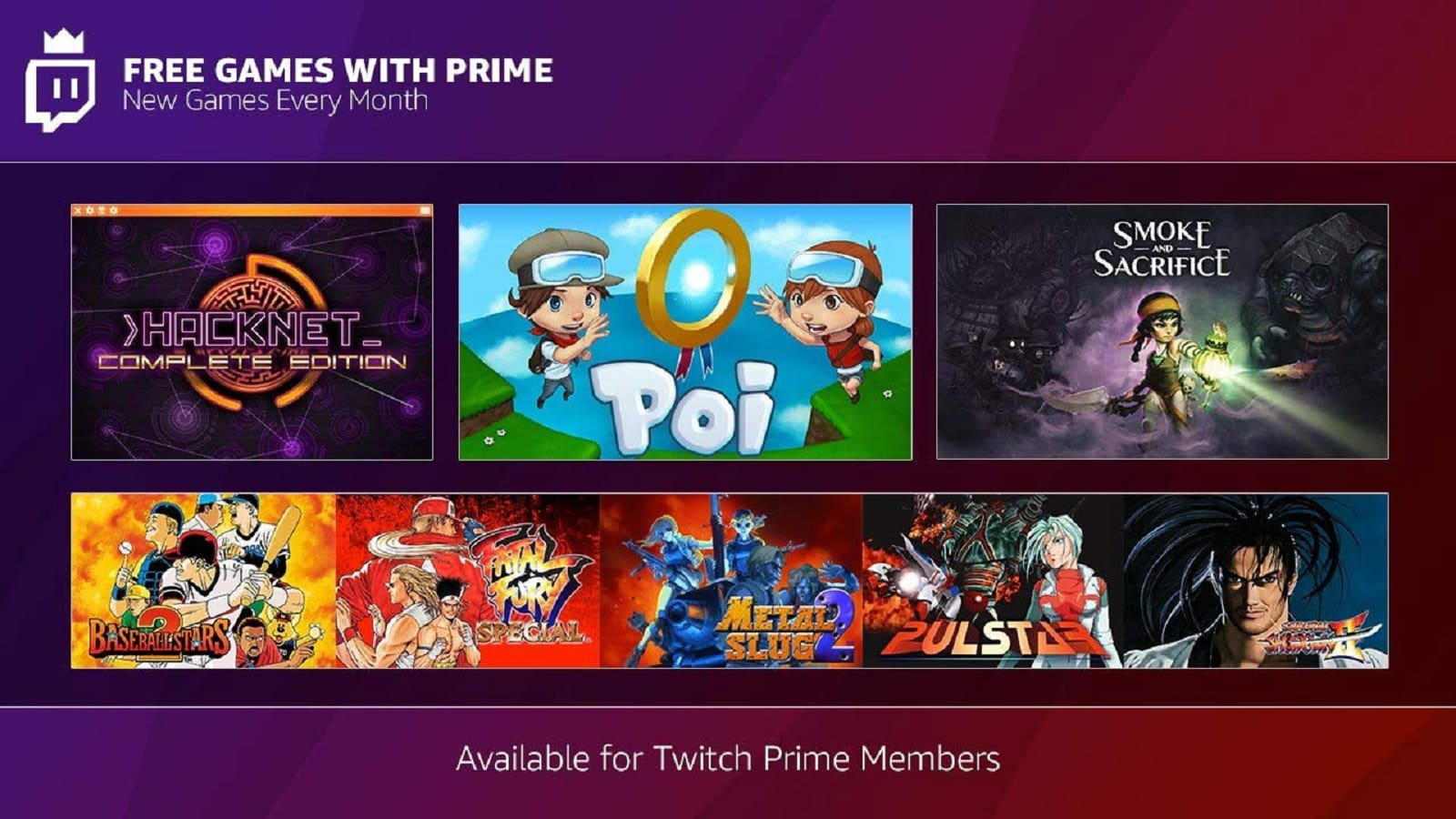 twitch prime free games december 2018