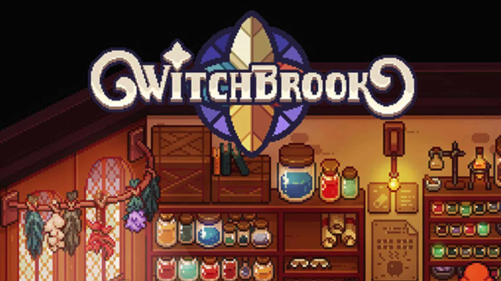 witchbrook game logo