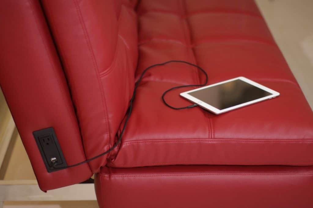 power sockets on side of gjemeni couch