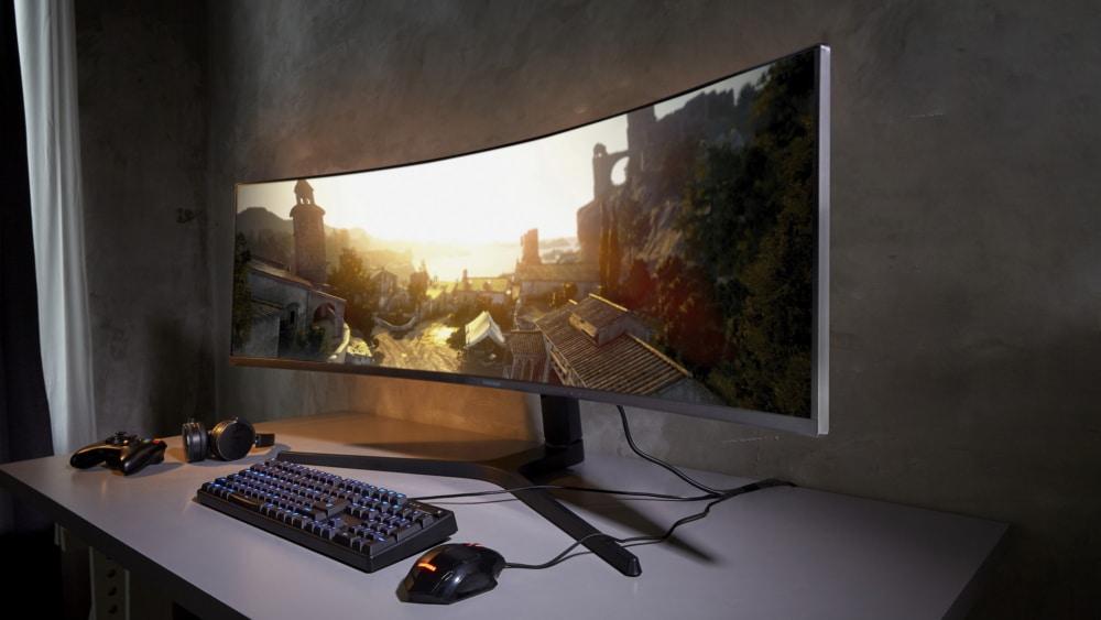 samsung 49-inch ultrawide monitor