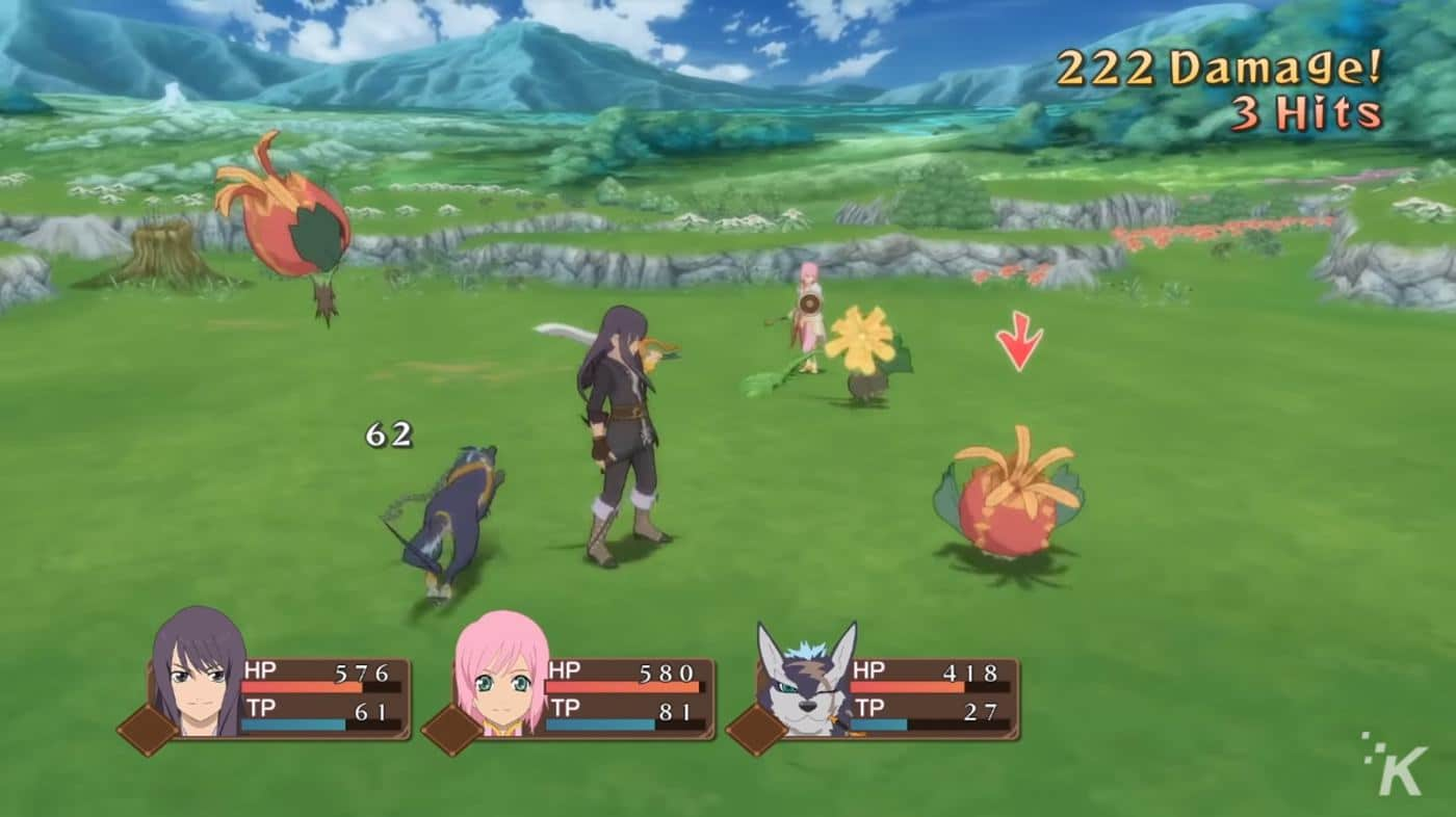 tales of vesperia definitive edition gameplay