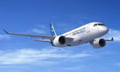 airbus plane in air