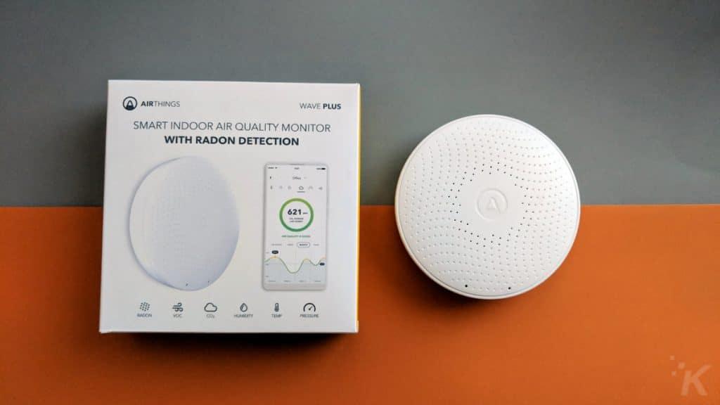 airtame wave plus radon detector