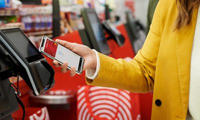 apple pay being used at a target