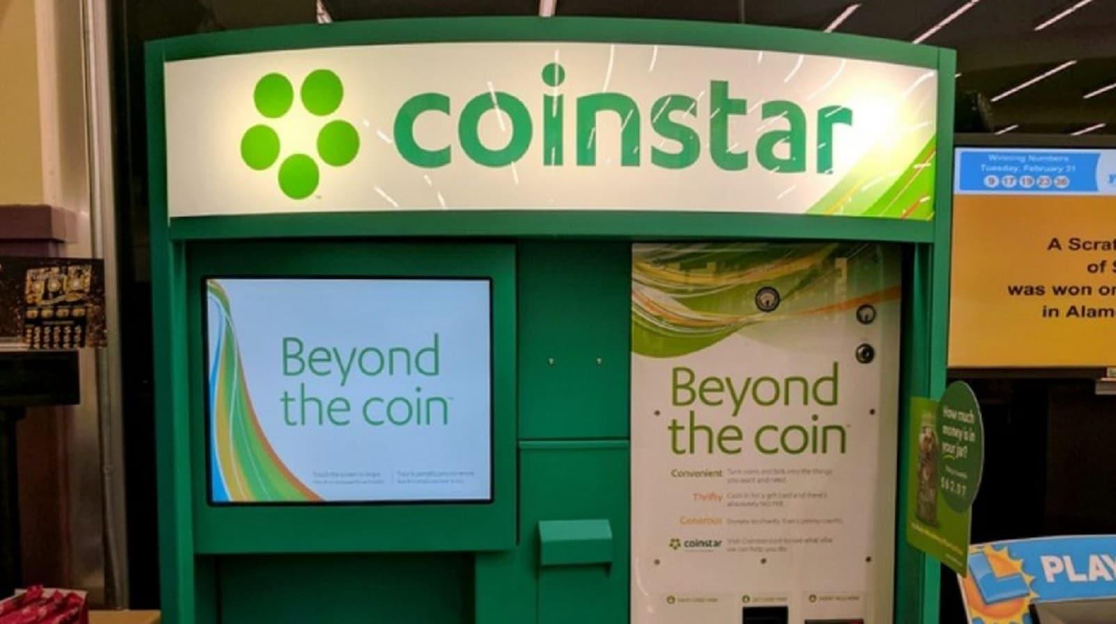 coinstar machine in store